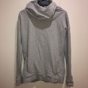 Lululemon Sz 6 Gray Cowl Neck Pullover Sweatshirt
